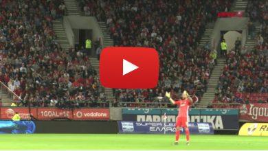 Photo of Η παρακάμερα του Ολυμπιακός – Ατρόμητος (Video)