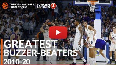 """Photo of 20 """"τρελά"""" buzzer – beater στην Euroleague (video)"""