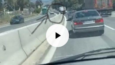 Photo of Tροχαίο με όχημα που κινούνταν στο αντίθετο ρεύμα (video)