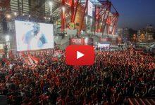 Photo of Οι πανηγυρισμοί στα γκολ έξω από το γήπεδο (video)